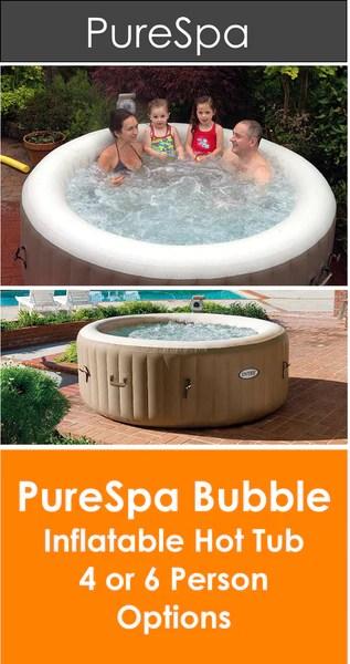 Intex Purespa Bubble Inflatable Hot Tub Pure Spa Panache