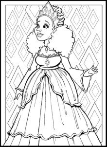 Natural Hair Coloring Pages