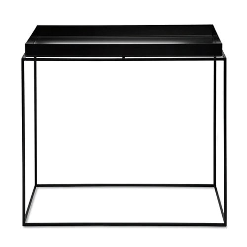 hay tray table black side table rectangular 40x60xh54