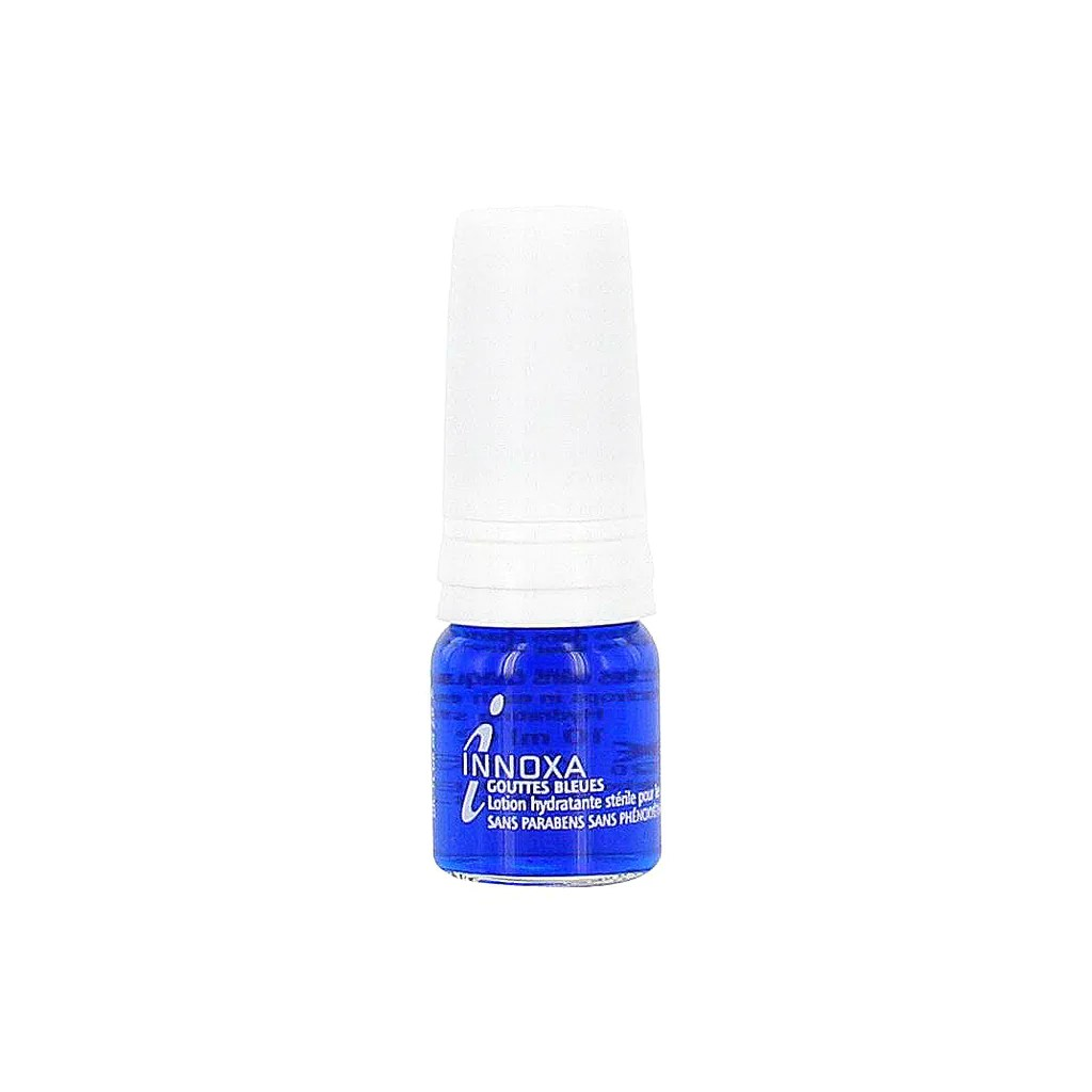 INNOXA French Blue Eye Drops Gouttes Bleues Hydrate moisturizing for e ...
