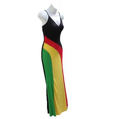 Rasta Roots Ladies Empress Long Dress Jah Reggae Vibes