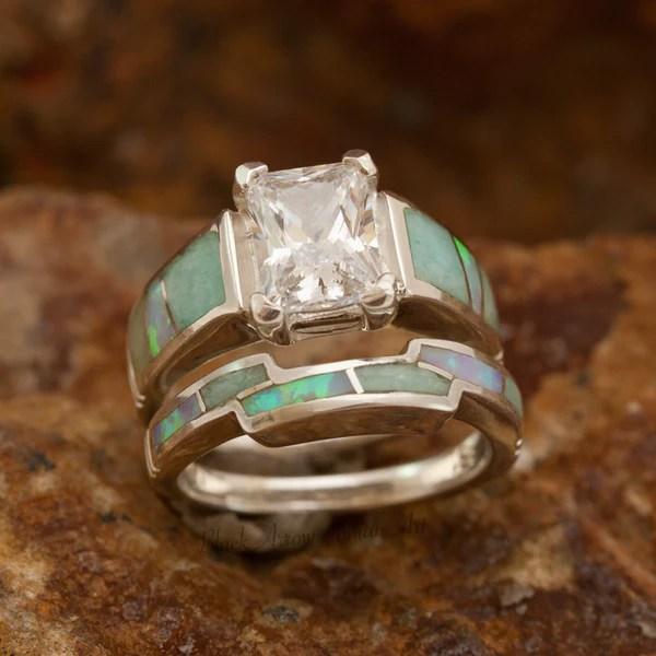 Inlaid Jewelry Diamond And Gemstone Jewelry Opal Jewelry