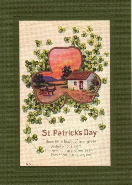 St Patricks Day Plymouth Cards