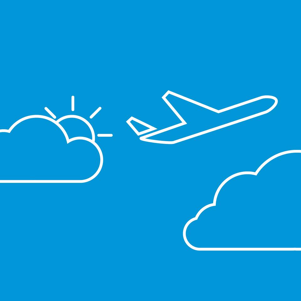 aircraft travel icon