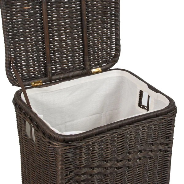 Rectangular Wicker Laundry Amp Storage Hamper The Basket Lady