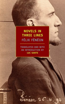 Novels in Three Lines     New York Review Books
