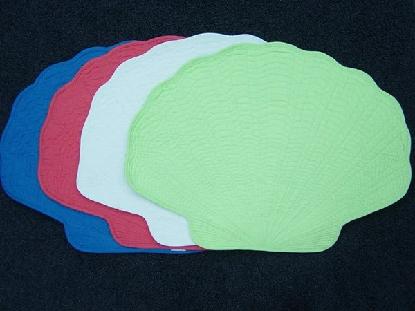 Shell Shaped Placemat Beach House Linens