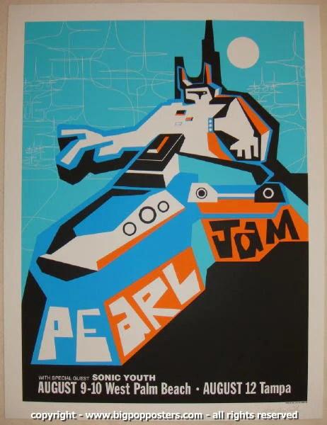 Poster Rock Concert Philadelphia Poster