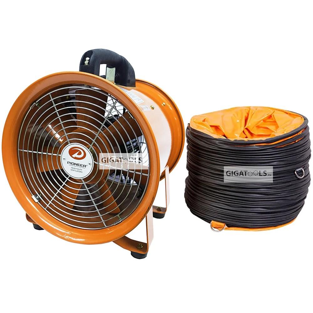 pioneer industrial portable air blower ventilator