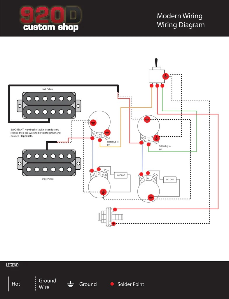 Diagrams  Les Paul Modern Wiring – Sigler Music