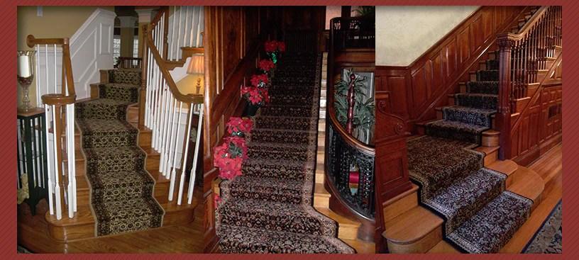Expert Stair Runner Installation In Maryland – Main Street   Oriental Carpet Runners For Stairs   Wall Carpet   Stuart Street   Salem Ma   Hallway Carpet   Boston Ma