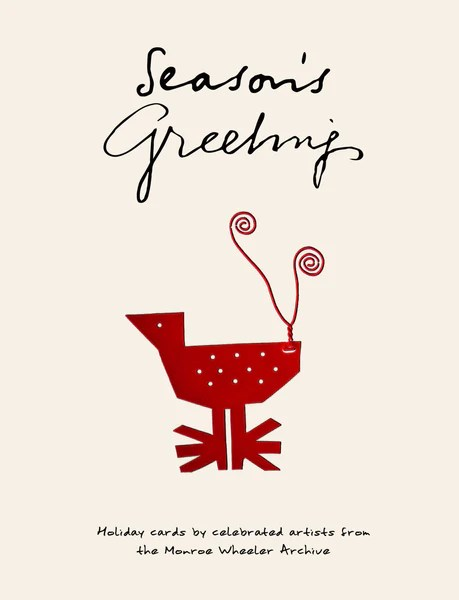 Seasons Greetings Holiday Cards By Celebrated Artists