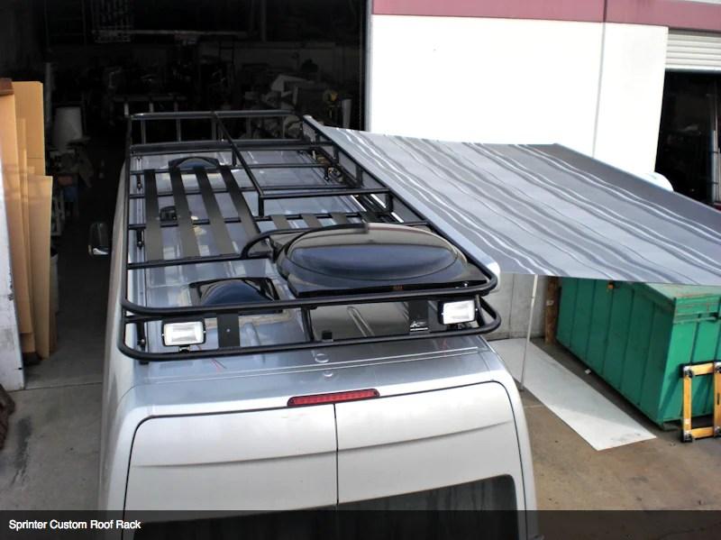 aluminess roof rack mercedes sprinter