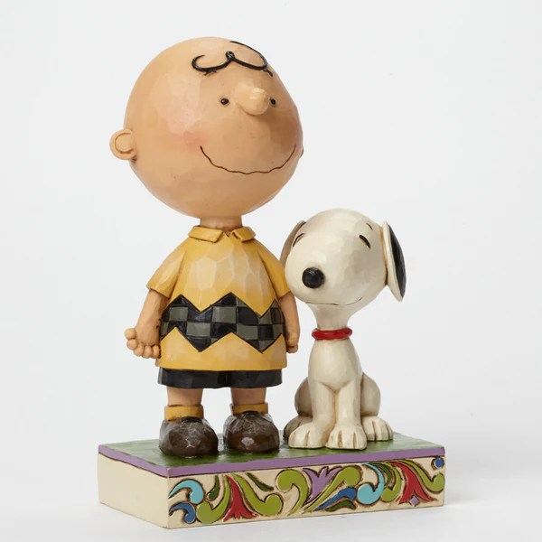 Jim Shore Peanuts Collection Life Is Better With A Dog