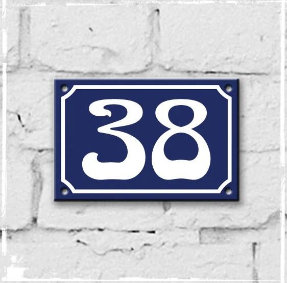 number 38 # 1