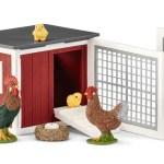 42421 Chicken Coop Set Action Toys