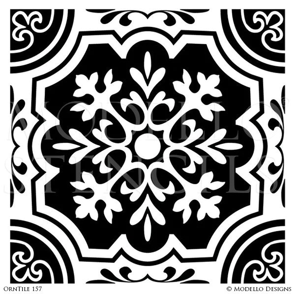 orntile157 custom tile stencil