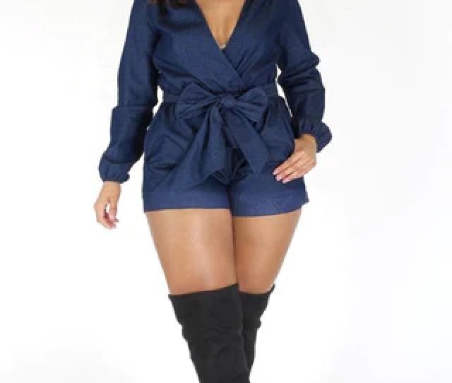 Plus Size Rompers Plus Size Jumpsuits Plus Size Clothing Club