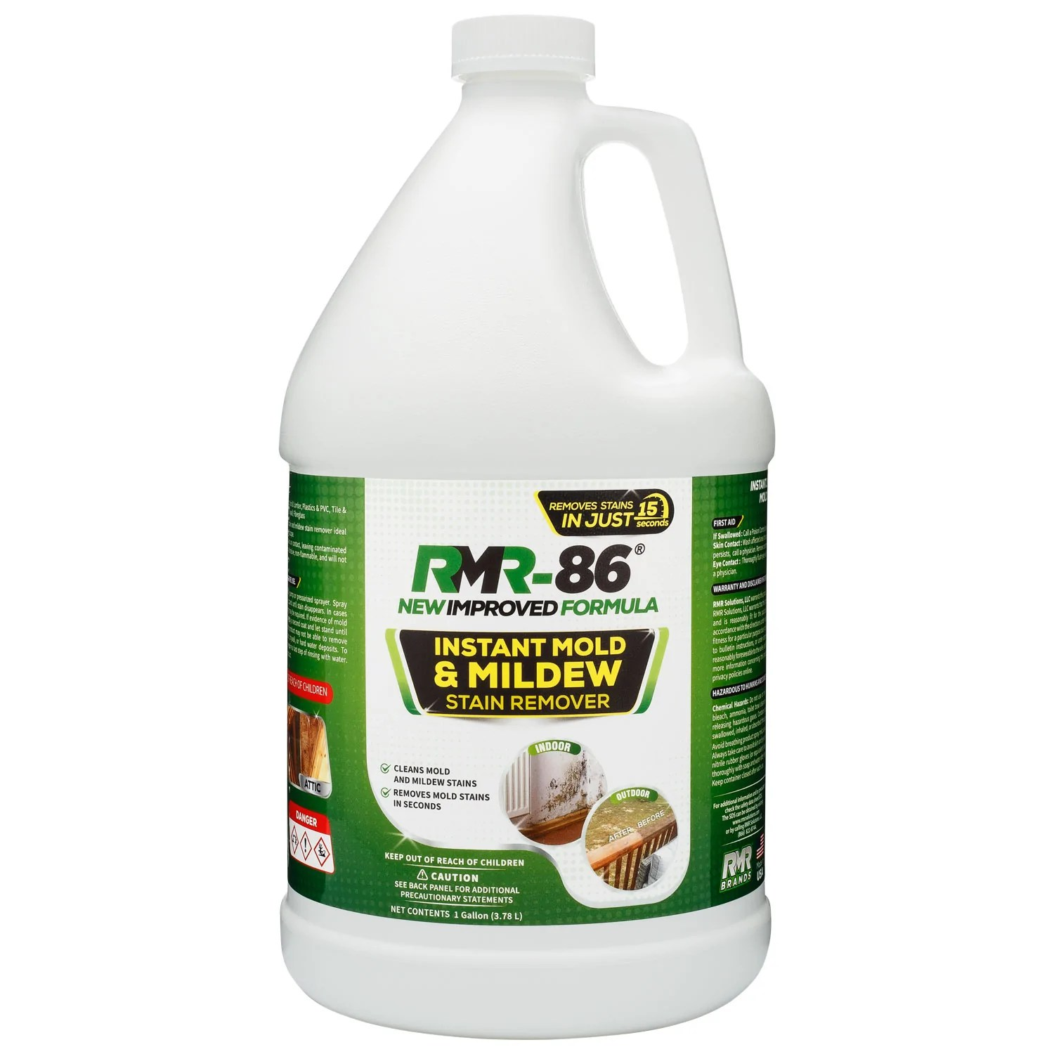 rmr 86 instant mold stain mildew stain remover