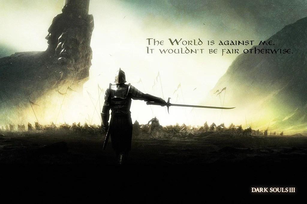 dark souls 3 quotes poster