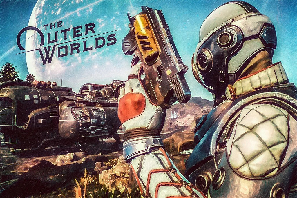the outer worlds game poster