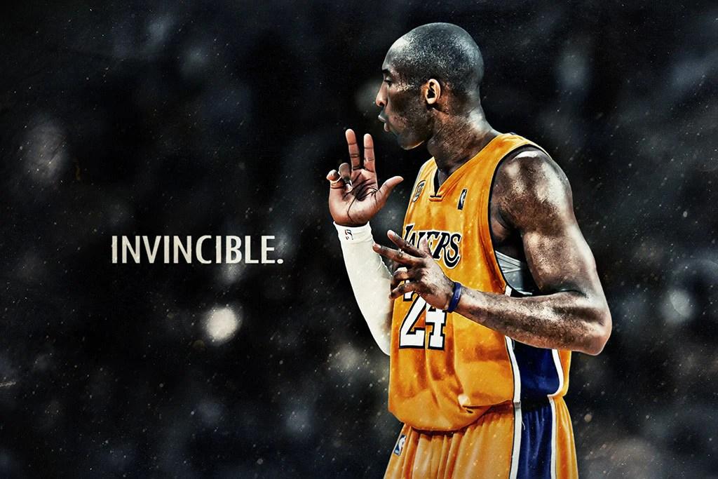 kobe bryant basketball nba player poster