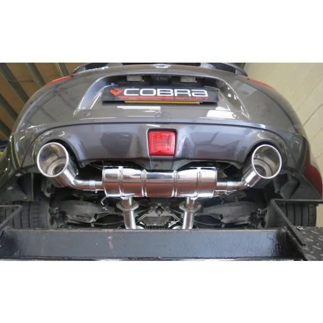 cobra 370z cat back full exhaust system