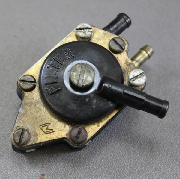 Johnson Evinrude Fuel Pump 383765 1969 1970 1971 55hp 60hp