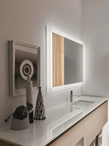 Artelinea Bathroom Mirror Luminee Illuminated Canaroma