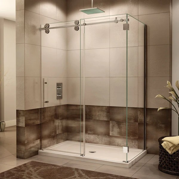 Fleurco Kinetik Two Sided KT Shower Door Closes Against