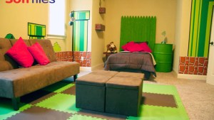 SoftTiles Super Mario Themed Bedroom/children's Playroom
