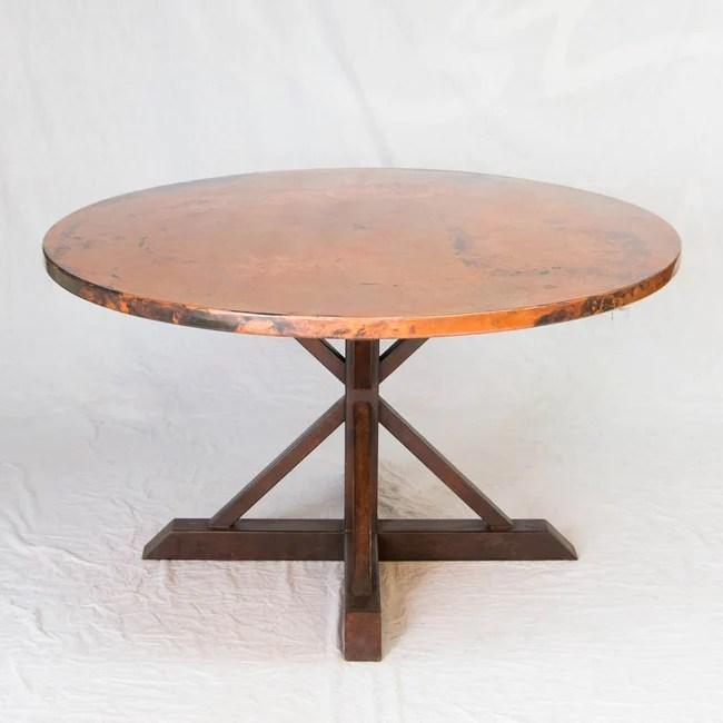 copper tables for sale at artesanos