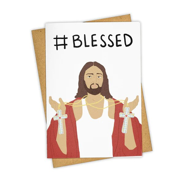 Blessed Holiday Card TAY HAM Card