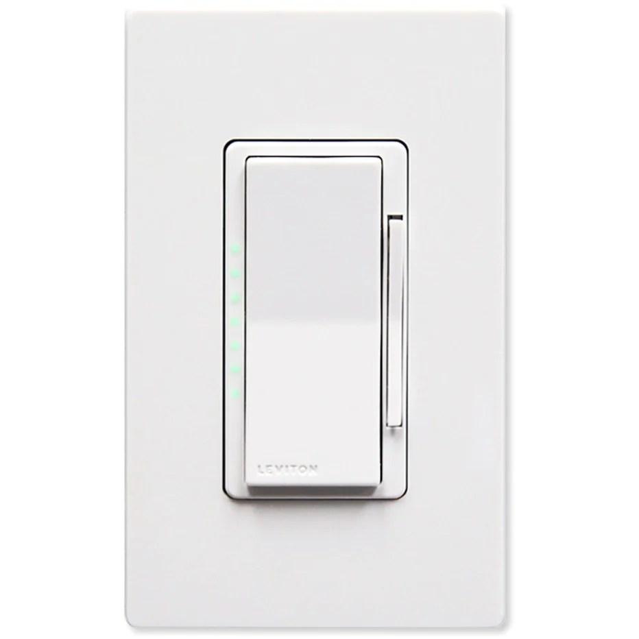 leviton z wave plus dimmer wall switch 1000w
