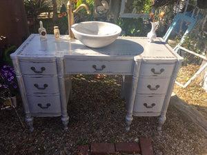 antique bathroom vanity cottage chic
