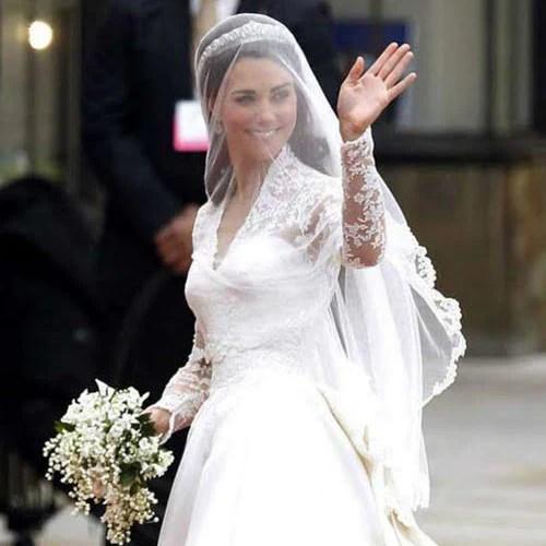Celebrity Weddings These Famous Brides Wore Mantillas