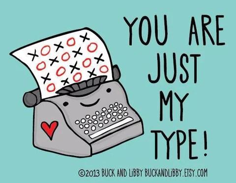 Favorite Valentine's Day Puns Just My Type