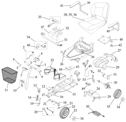Bobcat 843 Part Diagram