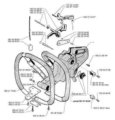 fuel tank vent valve Husqvarna # 501872501 288 395