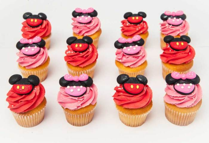 Mickey And Minnie Mouse The Cupcake Room