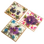 Pressed Flowers Trivet The Butchart Gardens Seed Gift Store