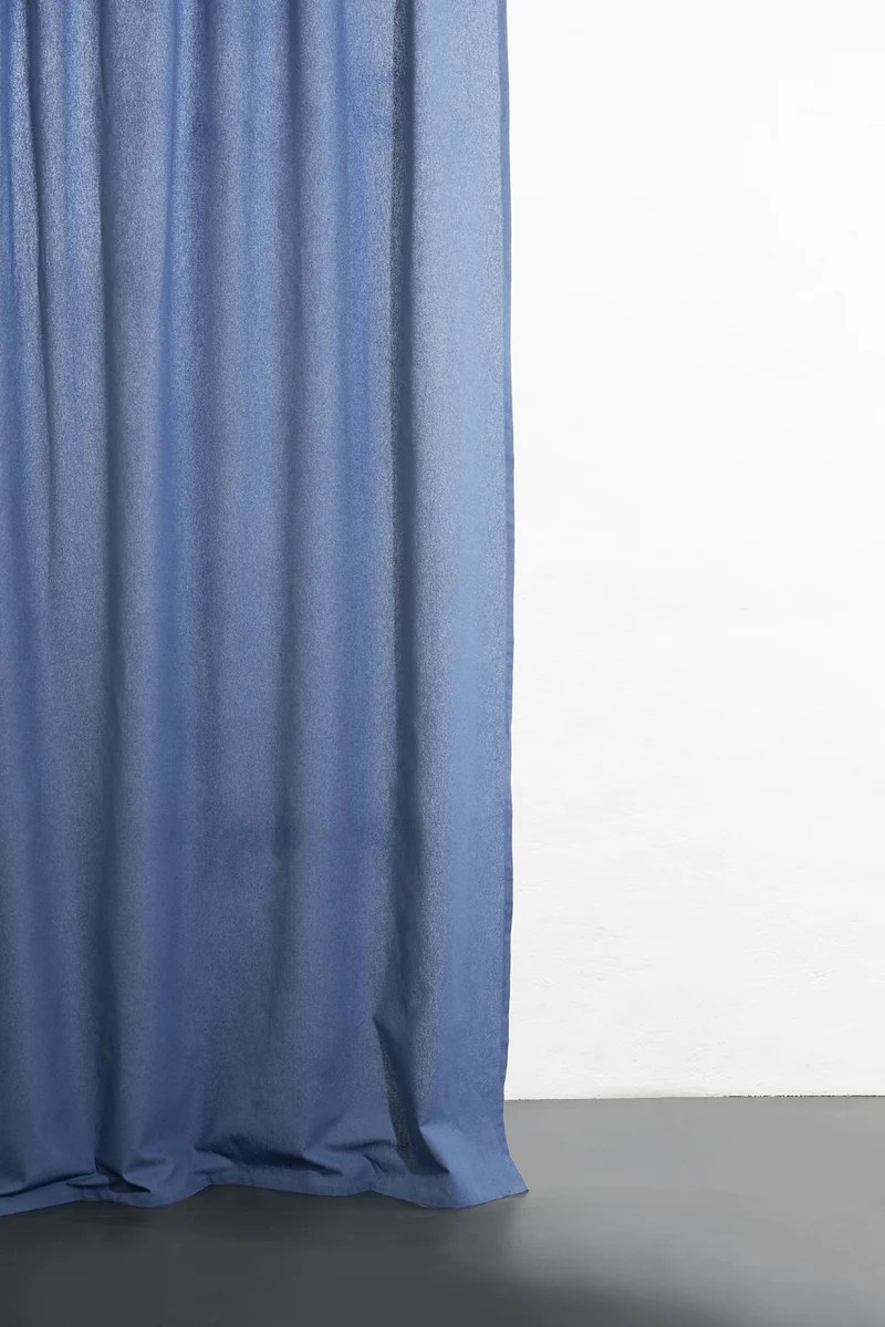 cannab hemp and organic cotton curtains