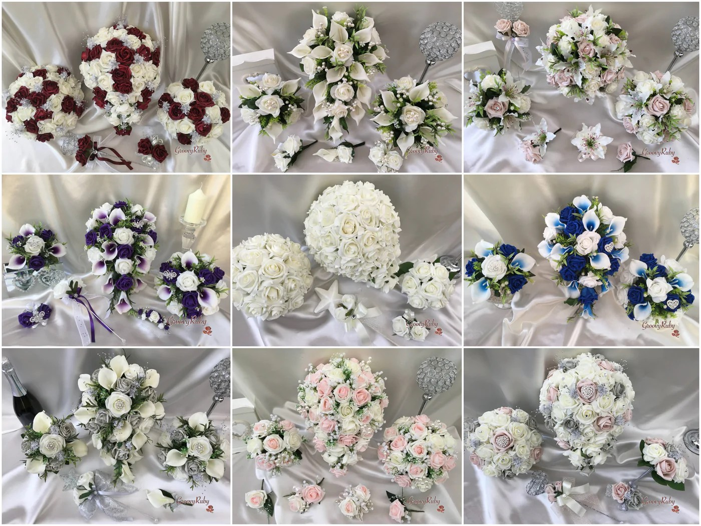 Beautiful Affordable Artificial Wedding Flowers
