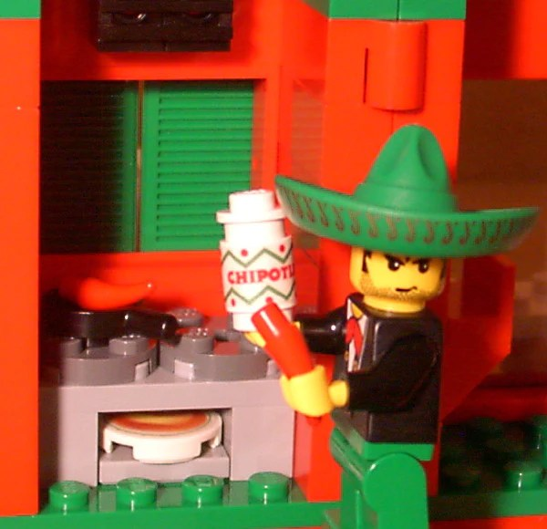 Dan S Custom Mexican Restaurant For Your Lego Town