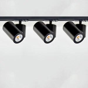 cylinder track light kit 2m 3 lights black white l component
