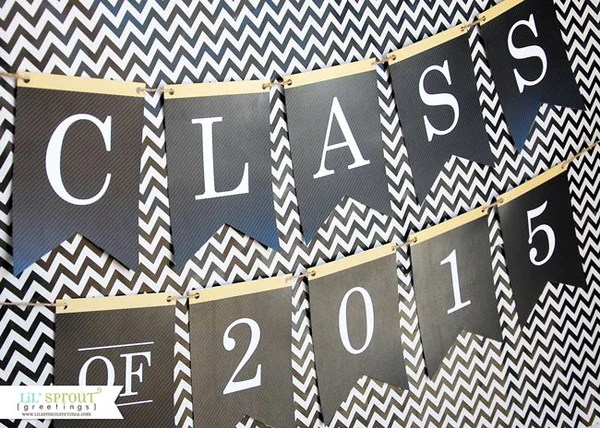 Cardstock Graduation Announcements