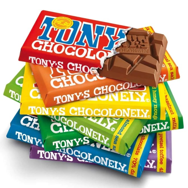 Image result for tony's chocolonely