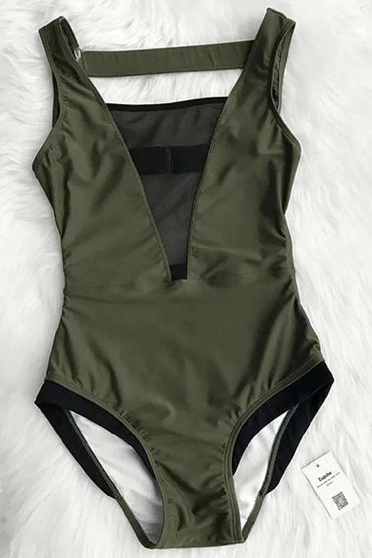 Glad You Are Here One-piece Swimsuit