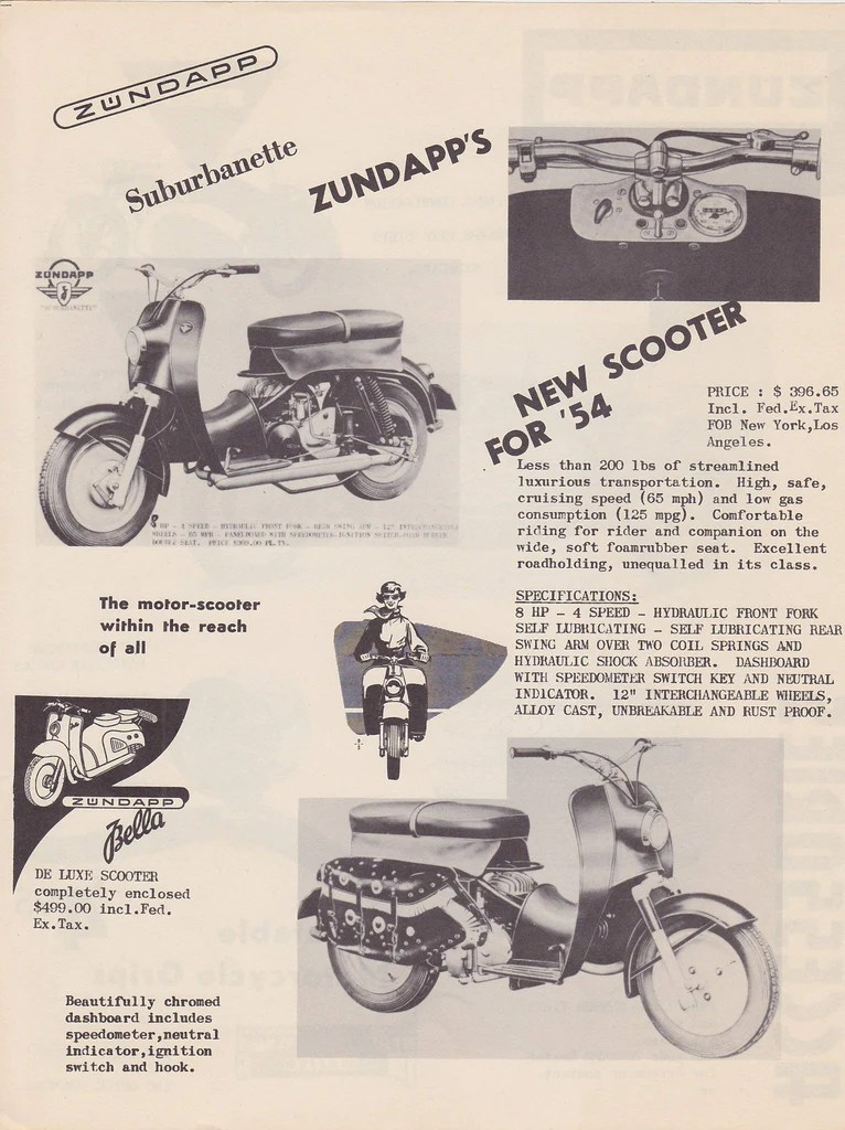 Bought on Bike-urious – 1955 Zündapp Suburbanette