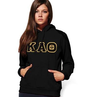 abda2f0584e0 Kappa Alpha Theta Sorority Hooded Sweatshirt Greek Merchandise .